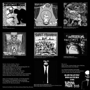 "Makabert Fynd ""EP's and Demos 2008-2013"" 12inch black vinyl"