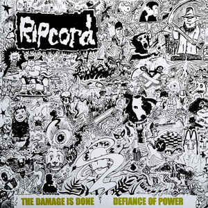 """Ripcord """"Discography Part I – The Damage Is Done • Defiance Of Power"""" 12inch"""