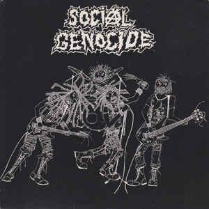 "Social Genocide / Agathocles ""Social Genocide / Systemphobic"" 7inch"