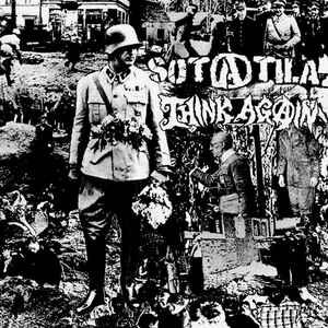"Sotatila / Think Again ""Black Rainbow -Split EP"" 7inch"