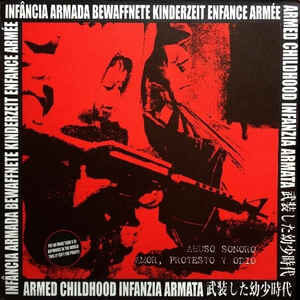 """Abuso Sonoro / Amor, Protesto Y Ódio """"Infância Armada"""" 12inch"""