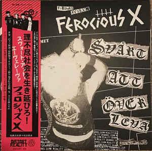 """Ferocious X """"Svårt Att Överleva"""" 12inch"""