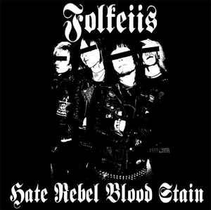 "Folkeiis ‎""Hate Rebel Blood Stain"" 12inch"