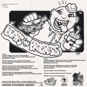 "BEATS IN PROGESS ""keep on diggin"" 12inch EP Testpress"