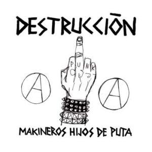 """Nailbiter / Destrucción """"Faded Brain Age / Makineros Hijos De Puta"""" 12inch"""