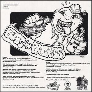 "BEATS IN PROGESS ""keep on diggin"" 12inch EP black wax"
