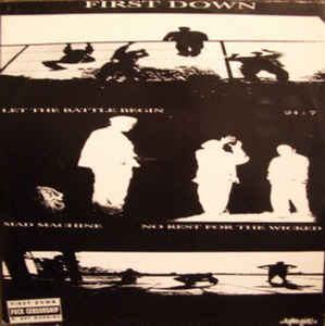 "First Down ""Let The Battle Begin"" 12inch EP"