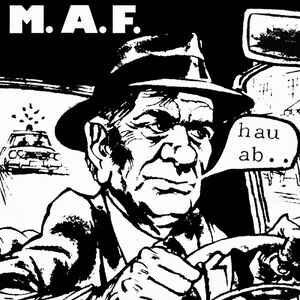 """M.A.F. """"Hau Ab.. """" 2xLP"""