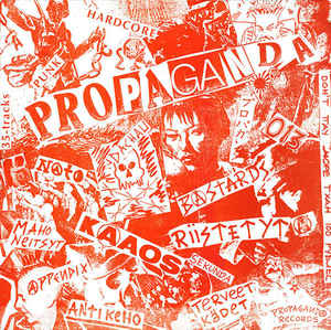 "Various ‎""Propaganda – Russia Bombs Finland"" 12inch"