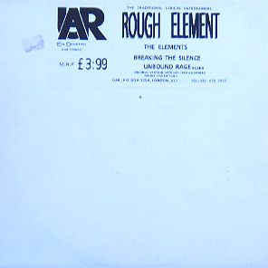 "Rough Element ‎""The Elements"" 12inch EP"