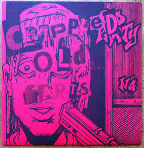 "Crippled Old Farts ‎""Crippled Old Farts"" 7inch red cover"