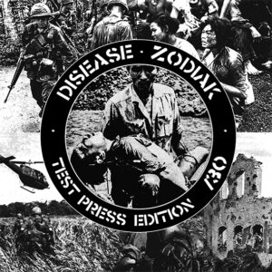 "Disease / Zodiak ""split"" 7inch Testpress"