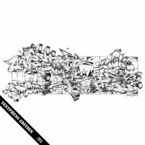 "MISTAH BOHZE ""Astrometricks"" 12inch EP Testpress"