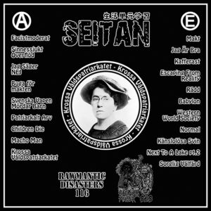 "Seitan ""Krossa Valdspatriarkatet"" LP TESTPRESS"