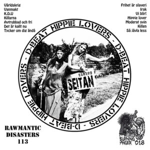"Seitan ""D-Beat Hippie Lovers"" LP TESTPRESS"
