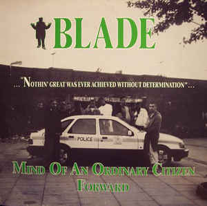 """Blade """"Mind Of An Ordinary Citizen / Forward"""" 12inch"""