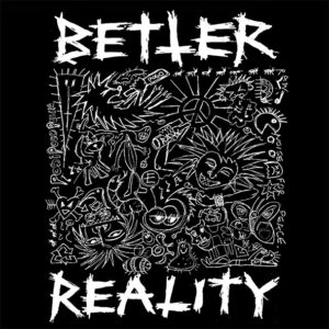 "Disease / Better Reality ""split"" 7inch black vinyl"