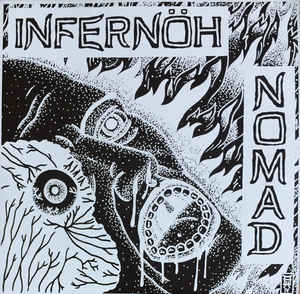 "INFERNÖH/ NOMAD ""split ep"" 7inch purple wax repress"