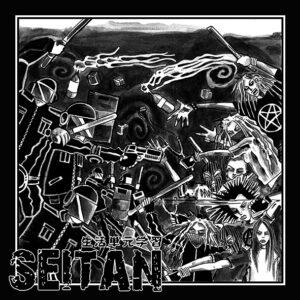 "Seitan ""Krossa Valdspatriarkatet"" LP white vinyl"