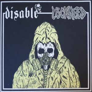 "Disable / Lockheed ""split"" 7inch white vinyl"