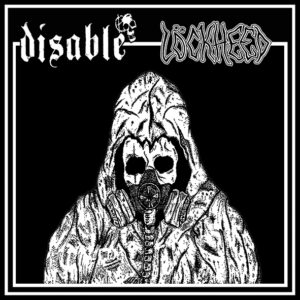 "Disable / Lockheed ""split"" 7inch black vinyl"