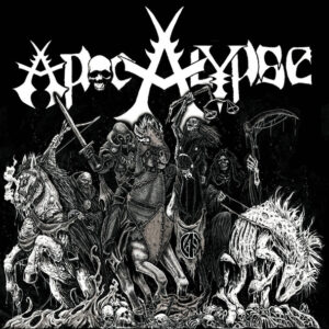 """Apocalypse / Extinction Of Mankind """"Apocalypse / Reap What You Sow """" 7inch"""