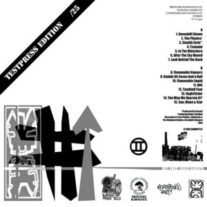 """TWO TONE COMMITTEE """"The Vertical Form"""" LP Testpress"""