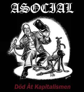 """Asocial """"Död Åt Kapitalismen"""" 12inch"""