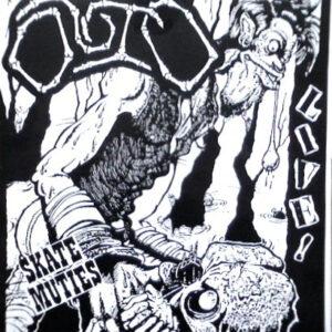 "Outo / S.O.B. ""Skate Muties Live! / Swindle Be Live '88"" 7inch"