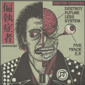 """Paranoid """"Destroy Future Less System"""" 7inch"""