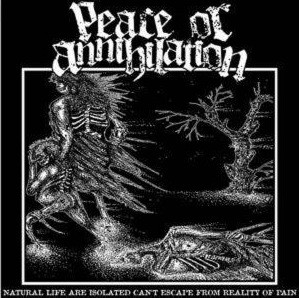 """Deportation / Peace Or Annihilation """"Deportation / Natural Life Are Isolated Can't Escape From Reality Of Pain"""" 7inch"""