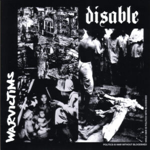 """Disable / Warvictims """"Disable / Warvictims"""" 7inch"""