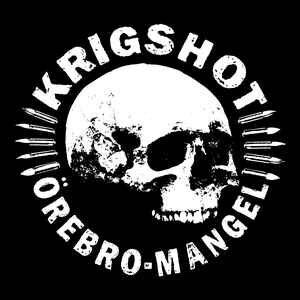 """Krigshot """"Örebro-Mangel"""" 12inch white vinyl"""