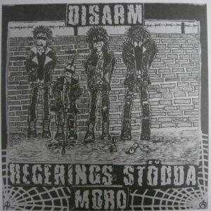 """Disarm """"Regerings Stödda Mord"""" 7inch"""
